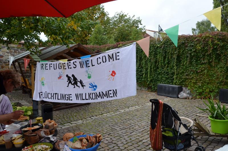 Refugees welcome - Einblicke in die Arbeit des Netzwerkes